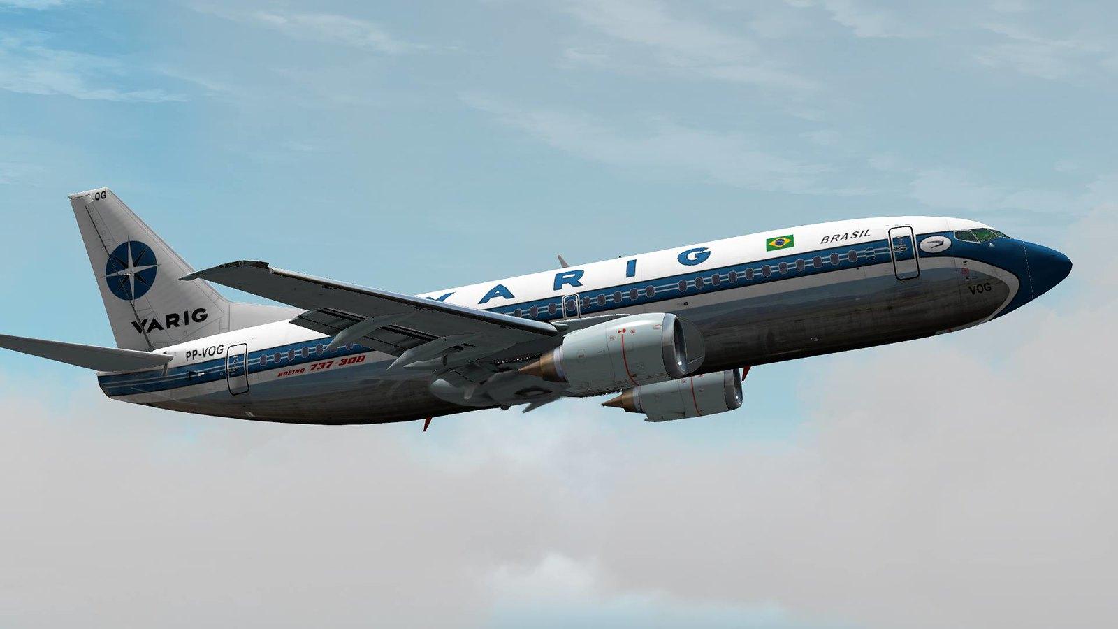 737-300 Varig - The AVSIM Screen Shots Forum - The AVSIM Community