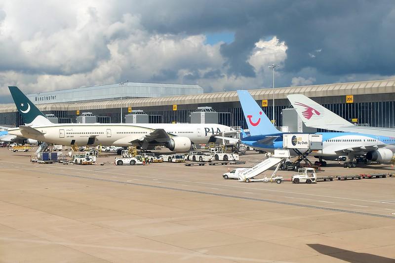 Ada apa di Bandara Manchester
