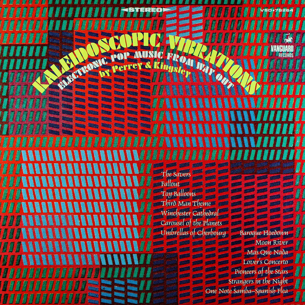 Gershon Kingsley, Jean-Jacques Perrey -  Kaleidoscopic Vibrations