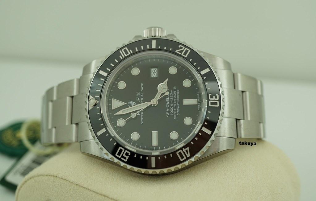 FSOT:BRAND NEW Rolex 116600 SEA-DWELLER 4000 CERAMIC BEZEL ...