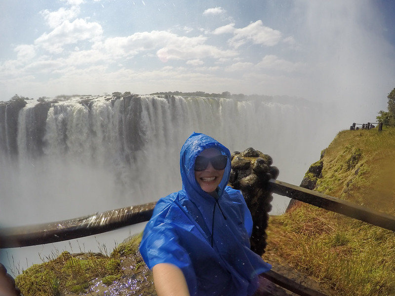 Akatuki at Victoria Falls