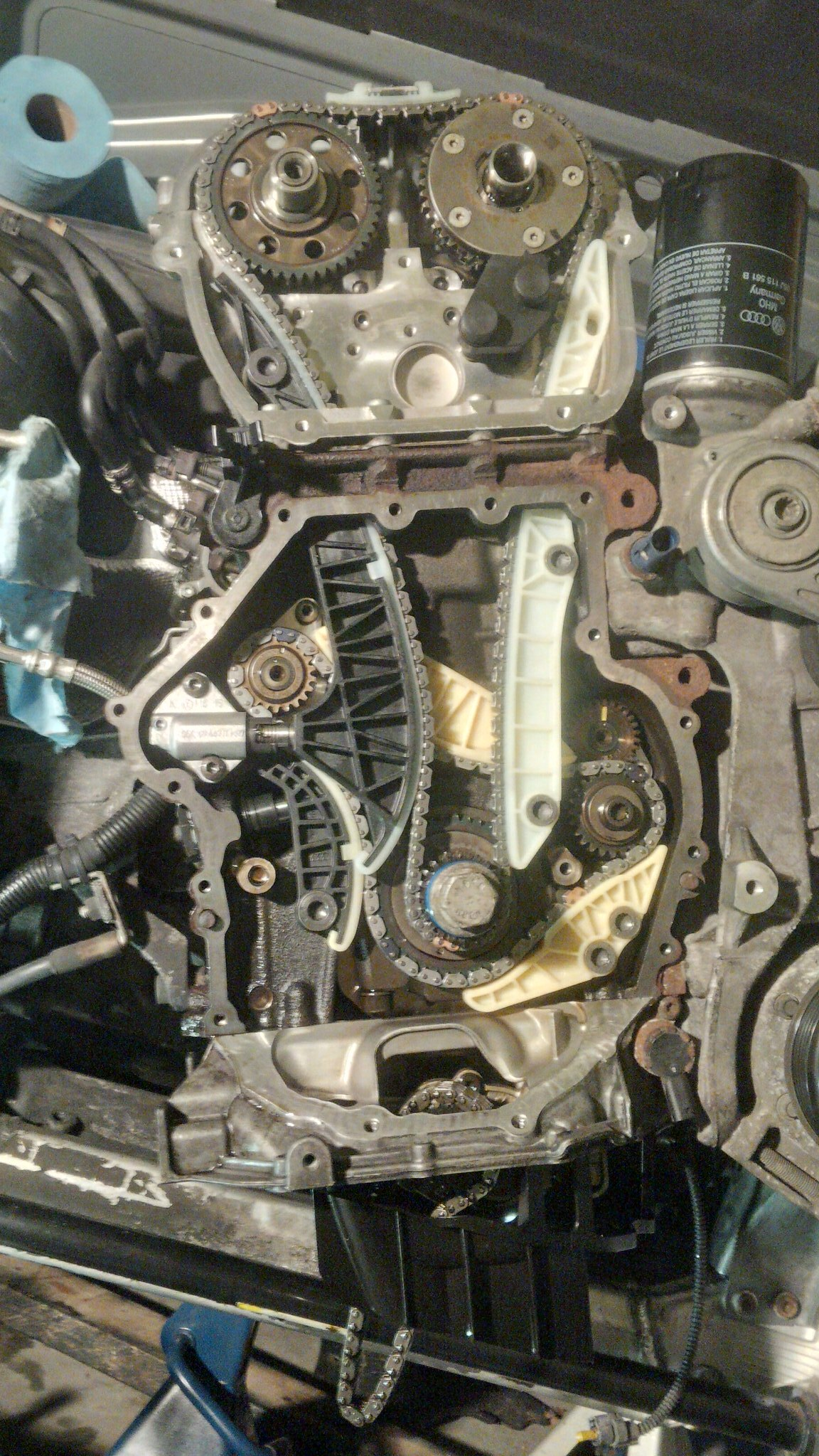 a4 b8 timing chain job p0016 rh audizine com Timing-Chain Passat 2 0 Turbo Rabbit Timing-Chain 06