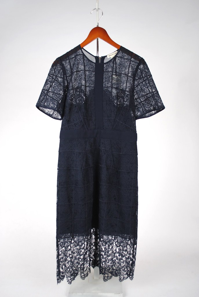 Ailsa Placement Lace Dress
