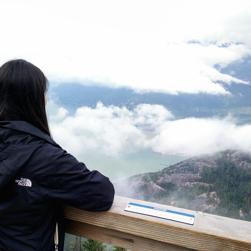 Overlooking Howe Sound