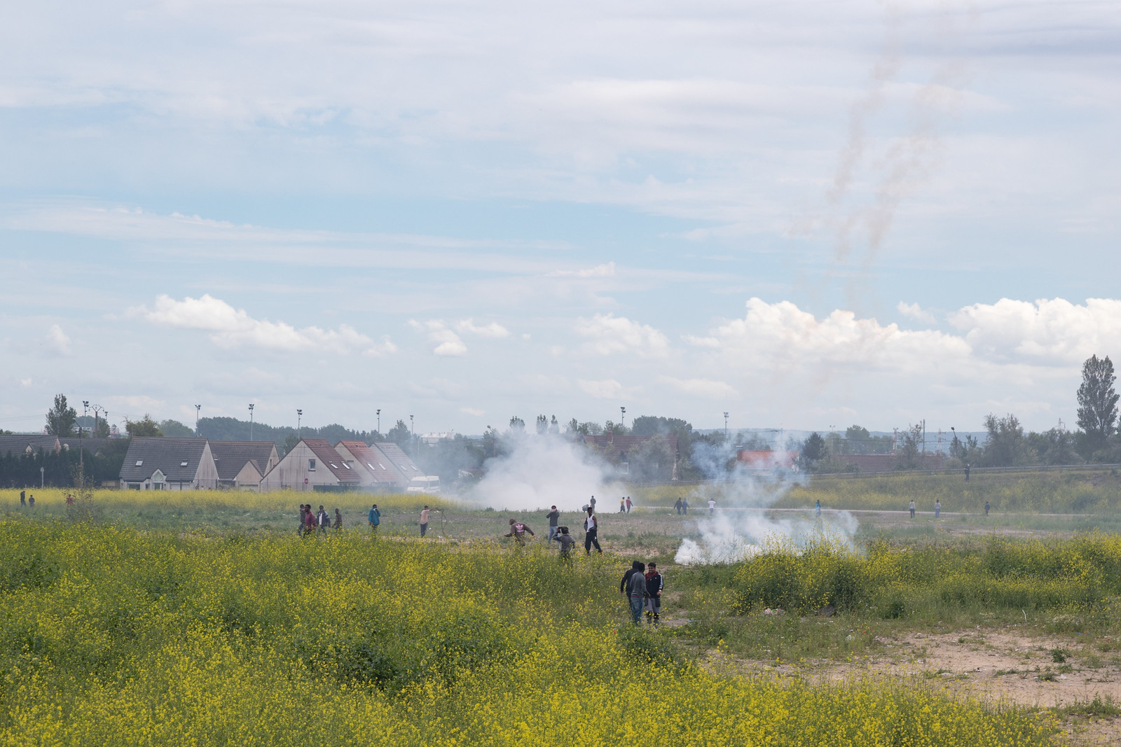 Firing Tear Gas