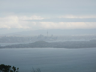 Views from Rangitoto Summit