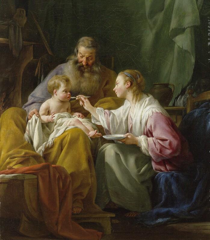 Noël Hallé - The Holy Family