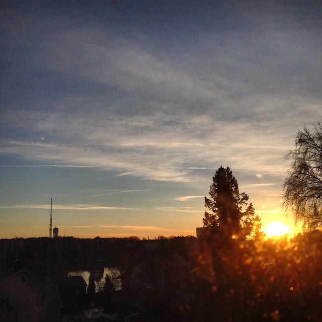 sunrise, winter solstice, karlskrona