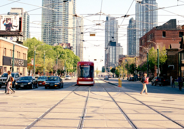 Crossing Spadina_