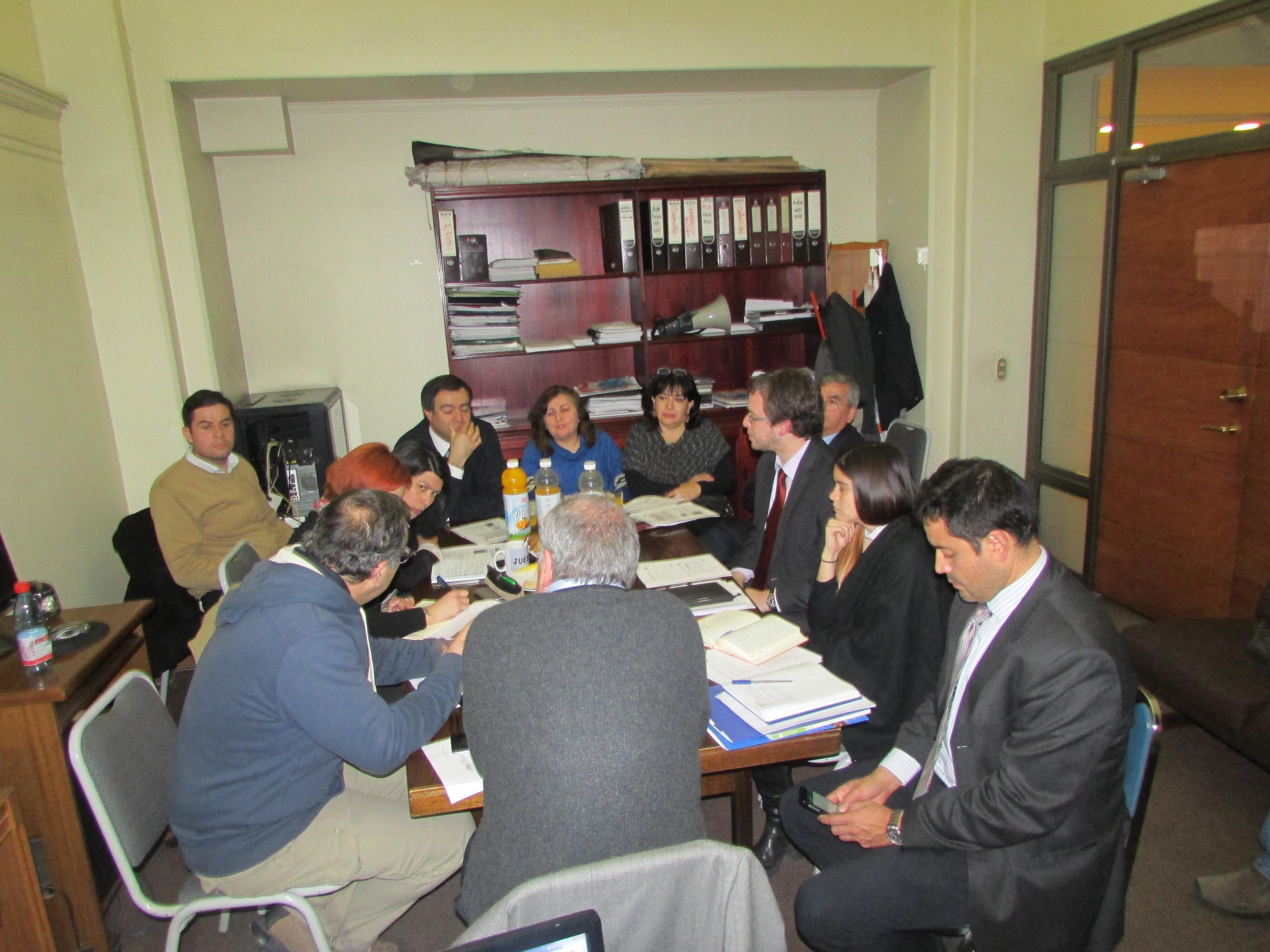 FTH se reunió con equipo de Hacienda por implementación del Instructivo Presidencial - 22 Junio 2016