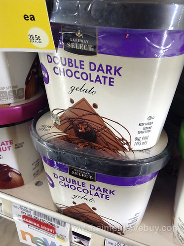 Safeway Select Double Dark Chocolate Gelato | theimpulsivebuy | Flickr
