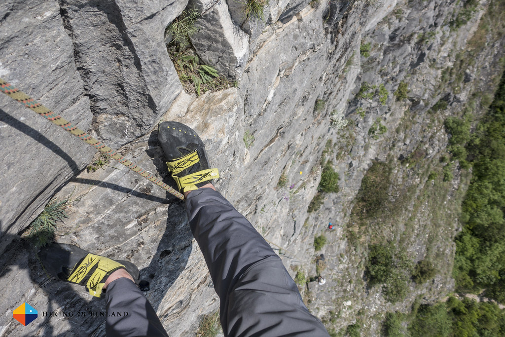 Climbing at Matka Canyon