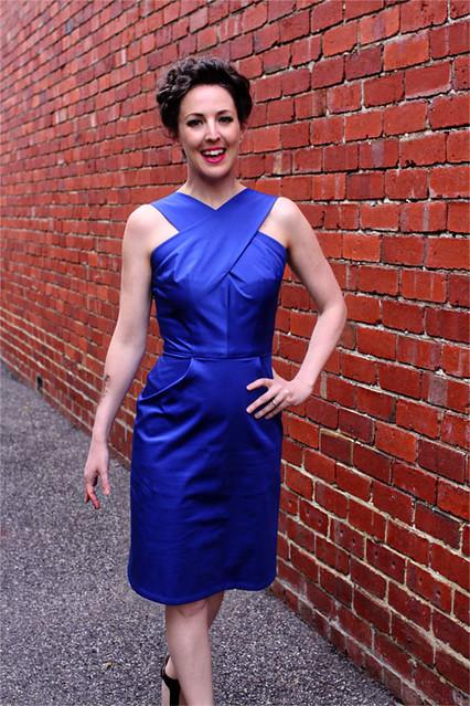 Dressmaker's Do Blue Vintage #1