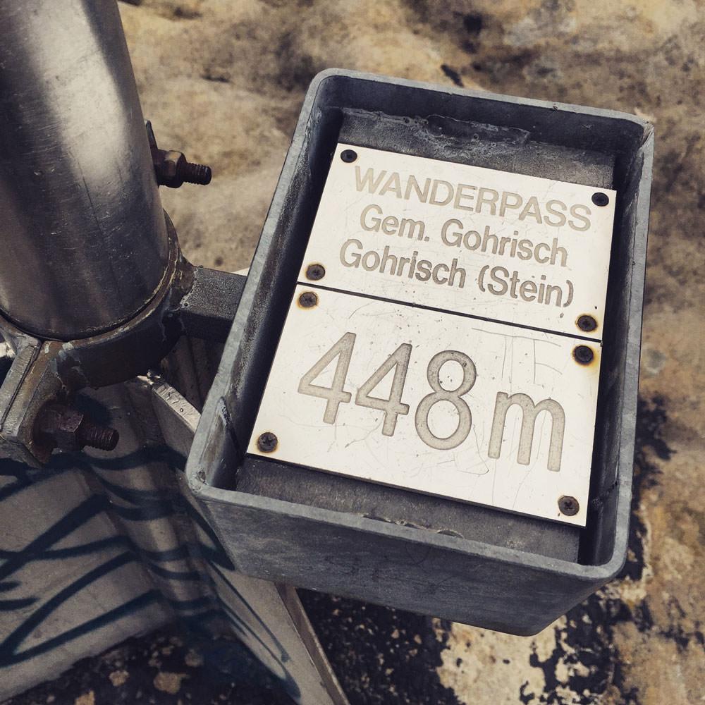 Auf dem Gohrischstein