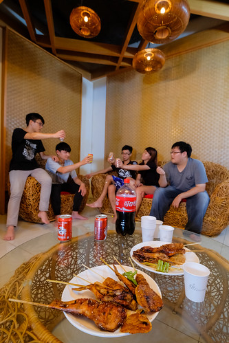 汽車旅館也可以烤肉!來台南媜13汽車旅館空中花園烤肉去 (12)