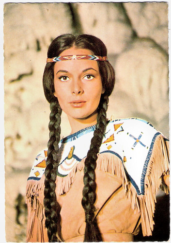 Karin Dor in Winnetou II. Teil (1964)