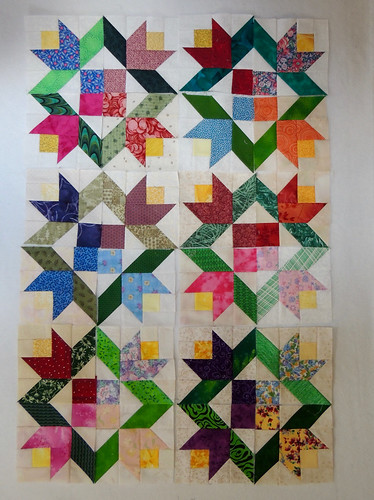 More Summer Vine blocks