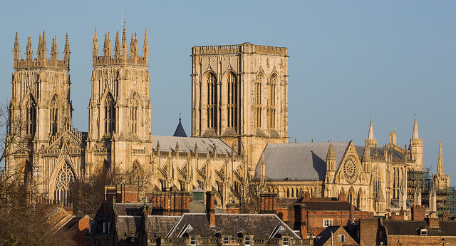 York Minster from, Bar Walls