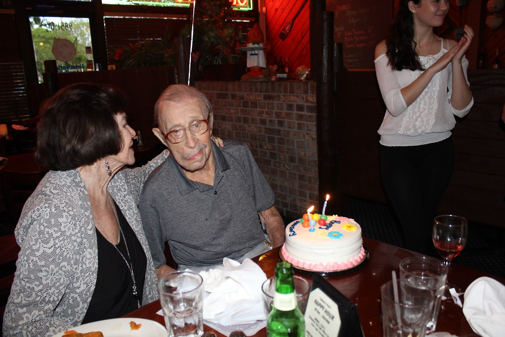Grandpa's 98th birthday