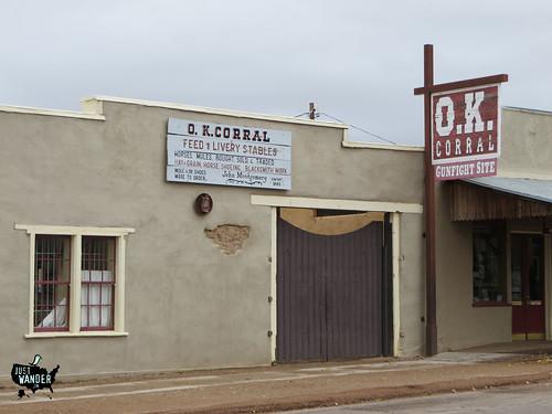 O.K. Corral Entrance