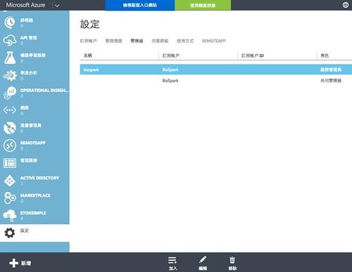 Azure帳號-共同管理2
