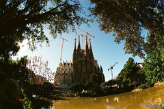 La Sagrada Familia. Barcelona. Spain