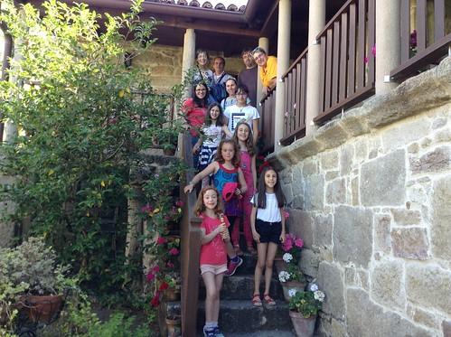 Club infantil de lectura - excursión á Casa-museo Valle-Inclán
