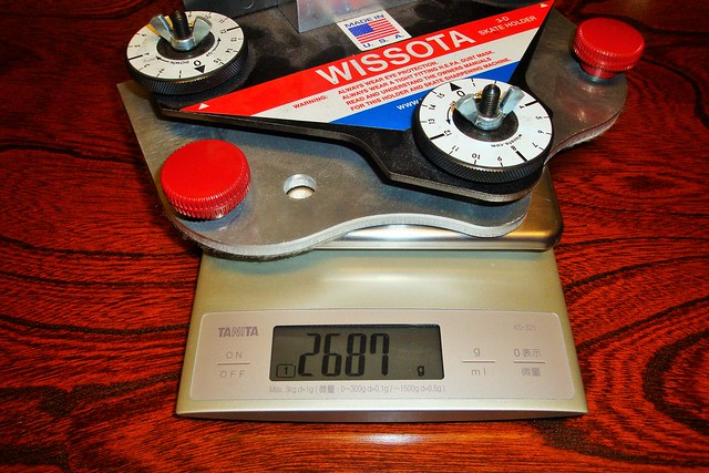 Wissota's weight