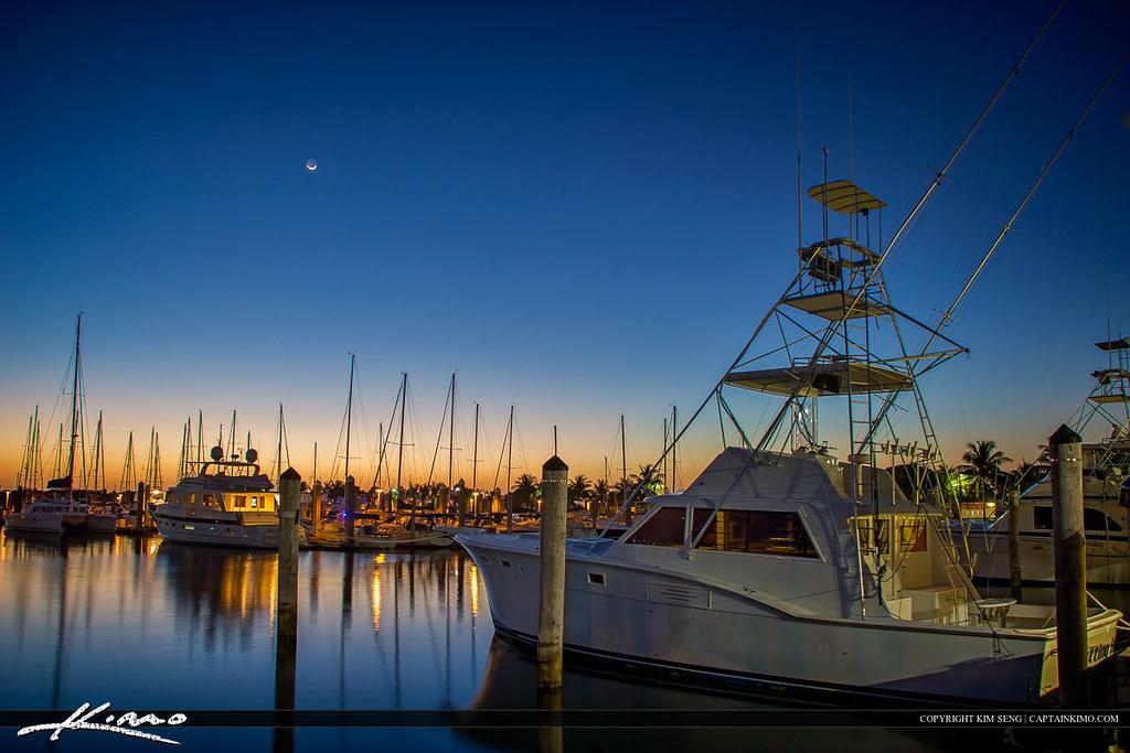 Fishing Charter Boat Crandon Park Marina