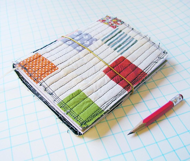 I'm giving away this charming and scrappy quilted planner, just leave a comment on the #giveaway post from Sunday and find out a few extra ways to enter as well. Tomorrow I will announce the winner.