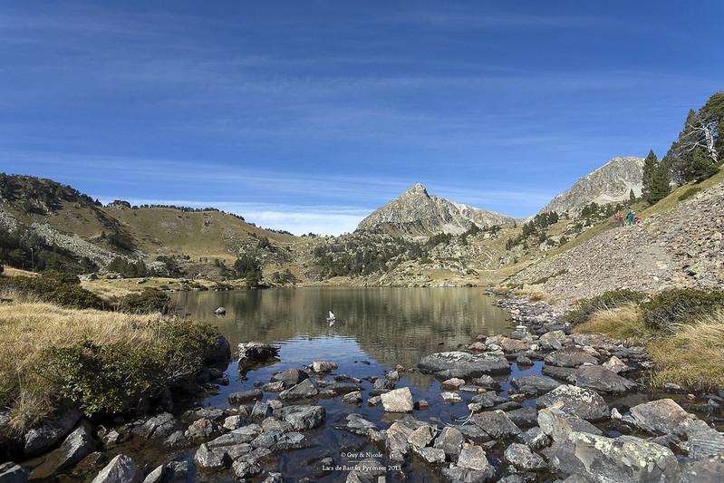 Lacs de Bastan (Lac du milieu)