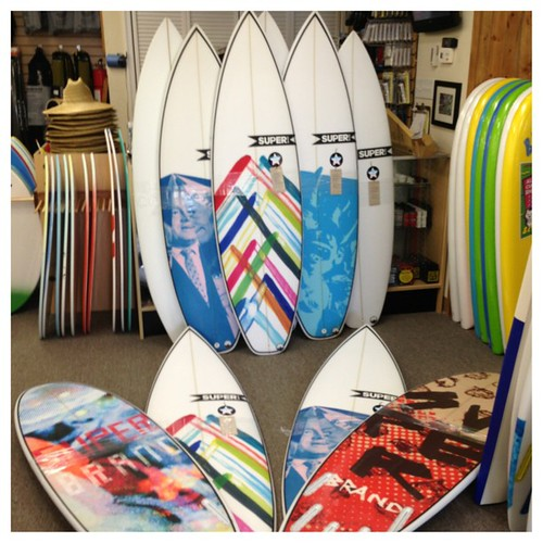 A whole batch of new SuperBrand Surfboards just arrived at Heritage Ocean City store. Stop by a put ur hands on some freshies, they still have the new surfboard smell - ahhh, fiberglass!!! Got some Maddness2, Craft2, Toys, and Vapors. #heritagesurfshop  # | by Heritage Surf Shop