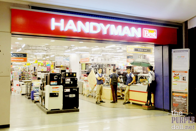 Handyman at Robinsons Place Manila