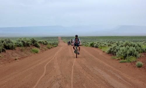 Dry Creek Basin road