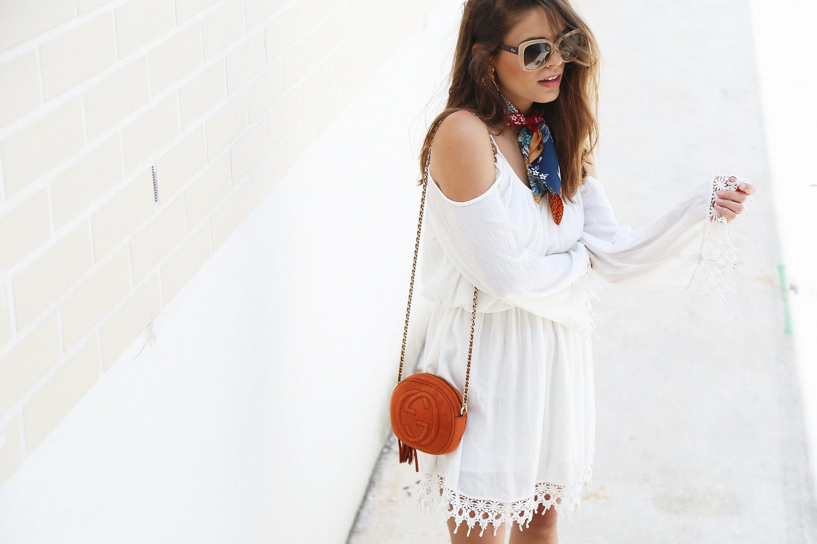 jessie chanes seams for a desire white off shoulders dress schutz sandals-5