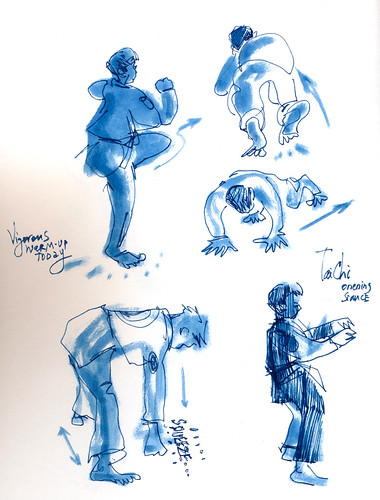 Sketchbook #98: My Life Drawing Class