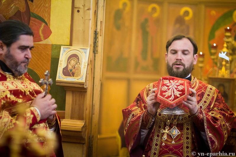 Литургия в хр.Бориса и Глеба 230