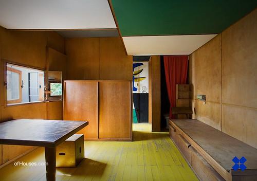 Le Corbusier /// Le Petit Cabanon /// Roquebrune-Cap-Martin, France /// 1949-1952