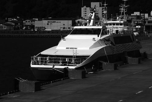 'PENGUIN 33' at the Port of Wakkanai on JUL 22, 2016