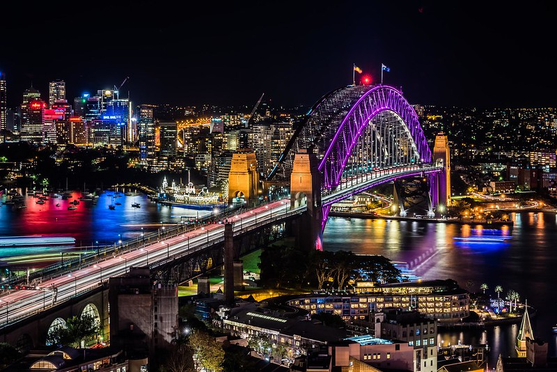 Vivid Sydney 2016_Sydney Harbour Bridge_CREDIT Destination NSW_KM-5698-6609