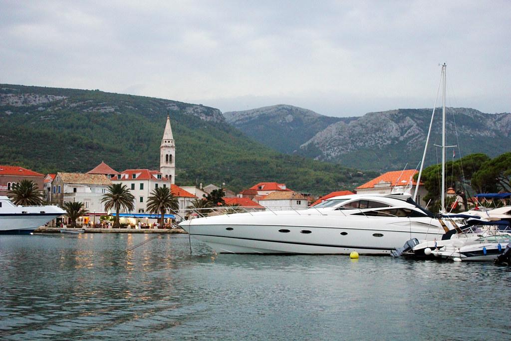 Hvar Croatia Jelsa port