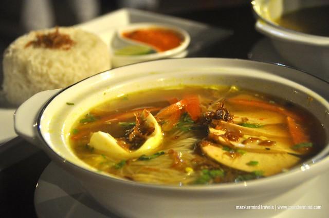 Local Lombok Dish at Kayangan Holiday Resort Lombok