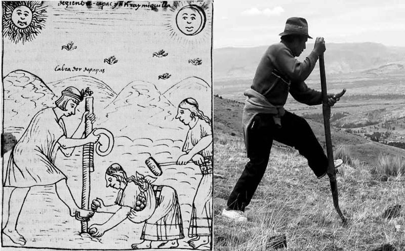 Chaquitaclla: antes y ahora