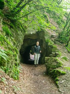 Tunnel der ehemaligen Schiefer-Transportbahn