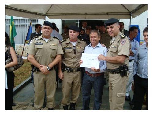 Inauguração 55ª Companhia da Polícia Militar em Varginha