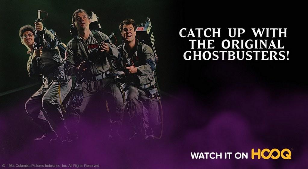 HOOQ Ghostbusters