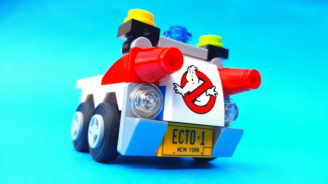 Ghostbusters Ecto-1 Mighty Micro