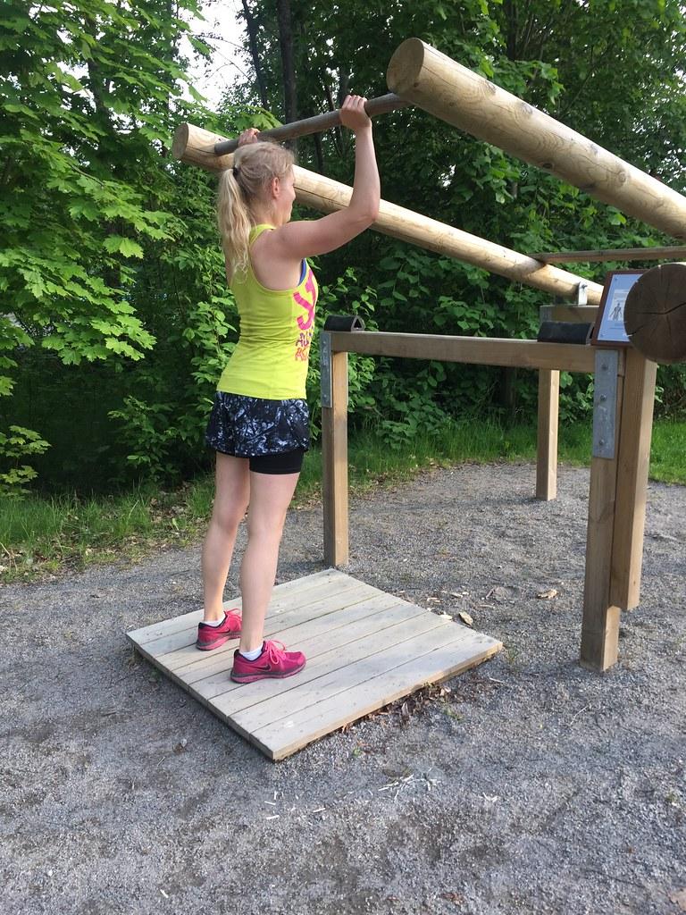 Träna för en vältränad kropp - utegym