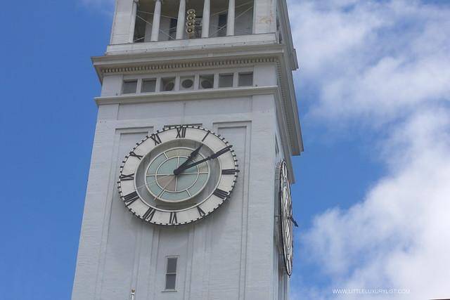 San Francisco Ferry building clock by little luxury list