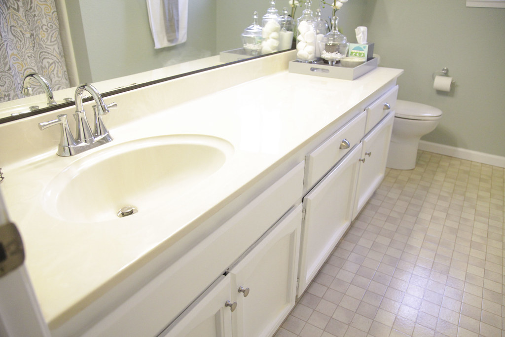 Painted Bathroom Vanity Cabinets